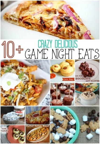 Crazy Delicious Game Night Eats
