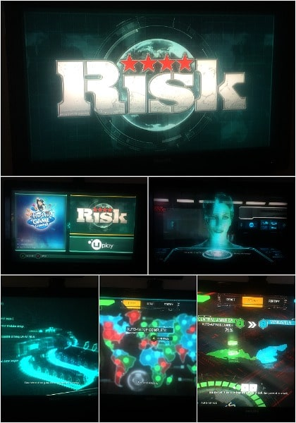 RISK gameplay on Xbox One