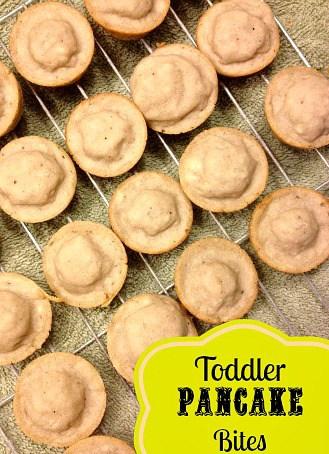 Toddler Pancake Bites