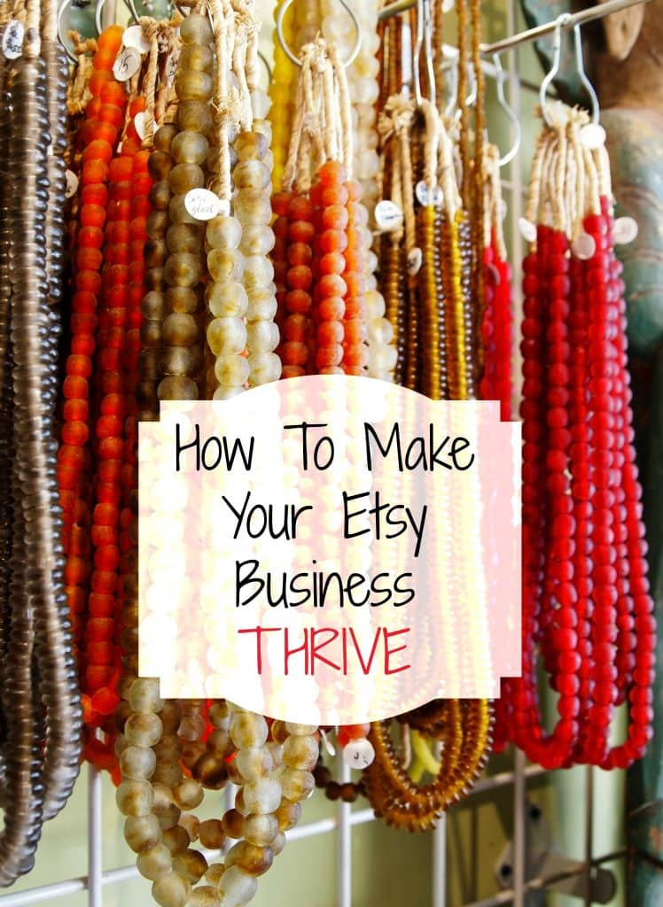 How to make your etsy business thrive moments with mandi for Selling crafts online etsy