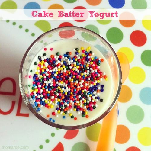 Funfetti Cake Batter Yogurt