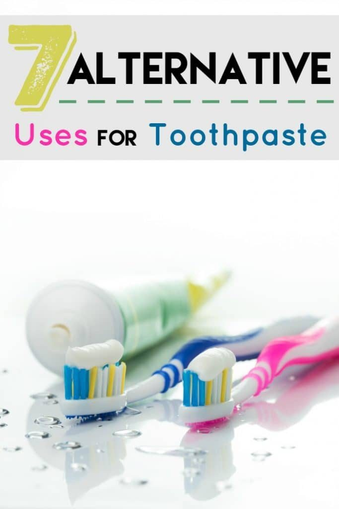 7 Alternative Uses for Toothpaste