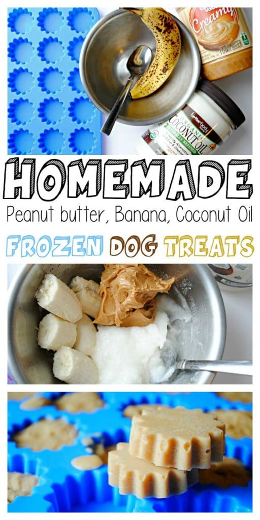Dog biscuit recipe peanut butter banana