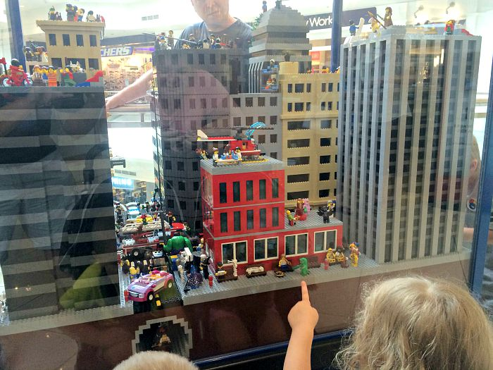 LEGO Americana Roadshow exhibit