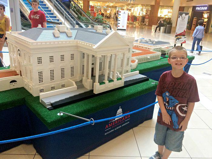LEGO Americana White House replica