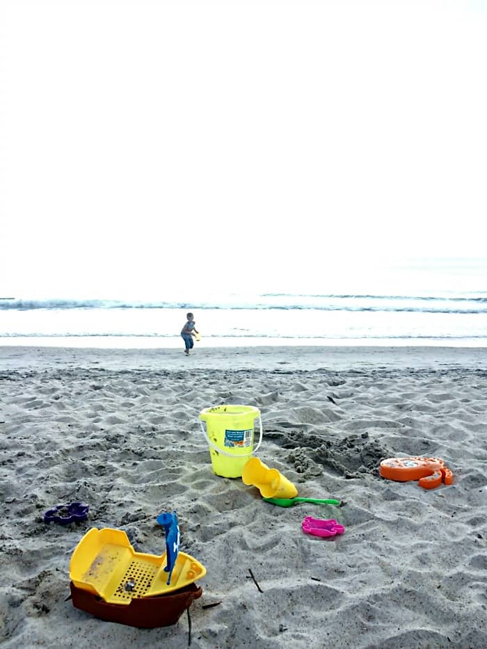 Faamily time at the beach