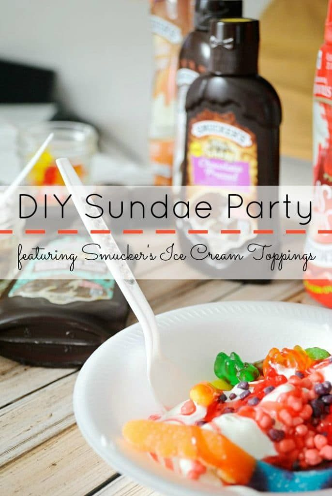 DIY Sundae Party