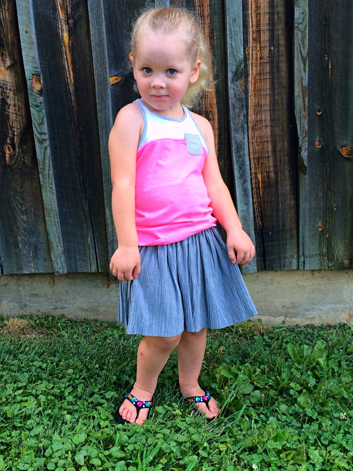 OshKosh B'Gosh 4T skirt and tank