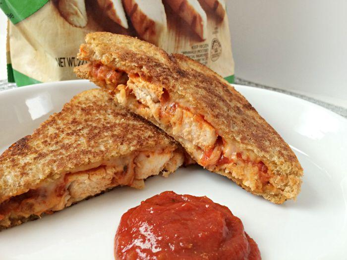 Parmesan Chicken Grilled Cheese Sandwich Recipe