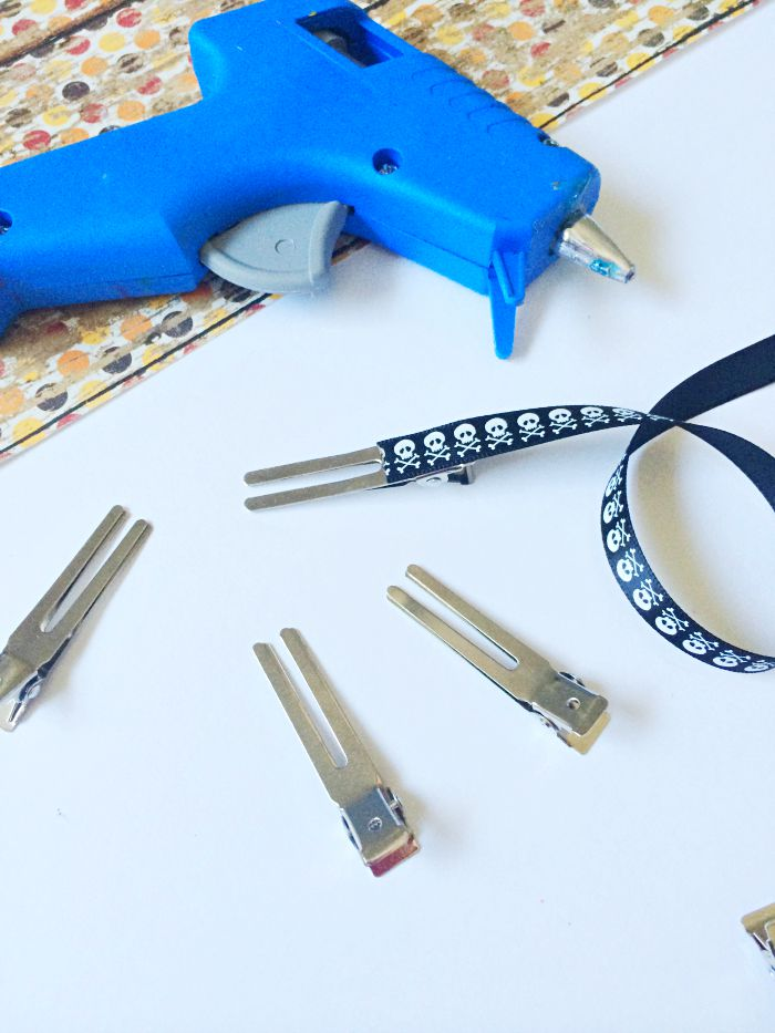 make your own hair clips