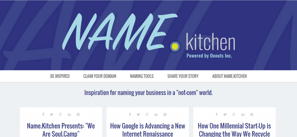 Name.Kitchen Powered by Donuts Inc.