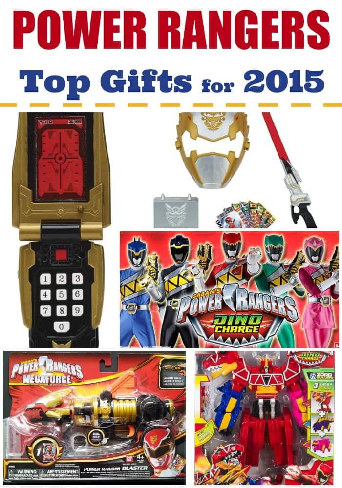 Power Rangers Gift Ideas for 2015