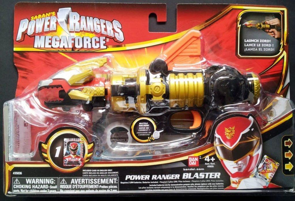 Power Rangers Megafroce Power Ranger Blaster