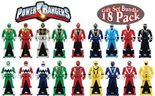 Power Rangers Super Megafroce Legendary Ranger Keys