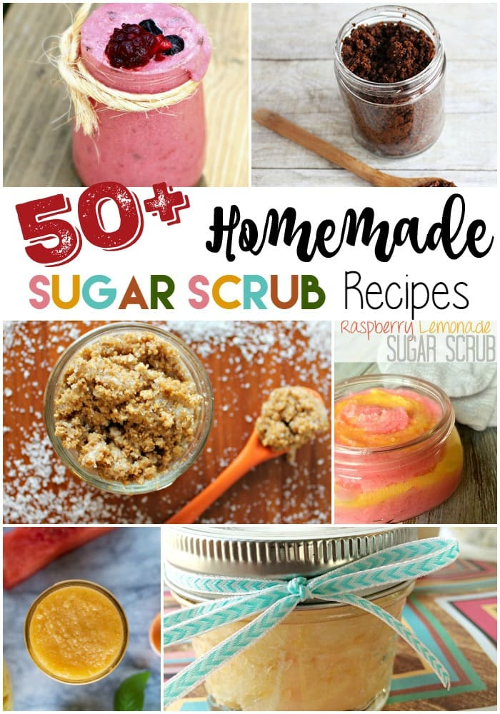 50+ Homemade Sugar Scrub Recipes