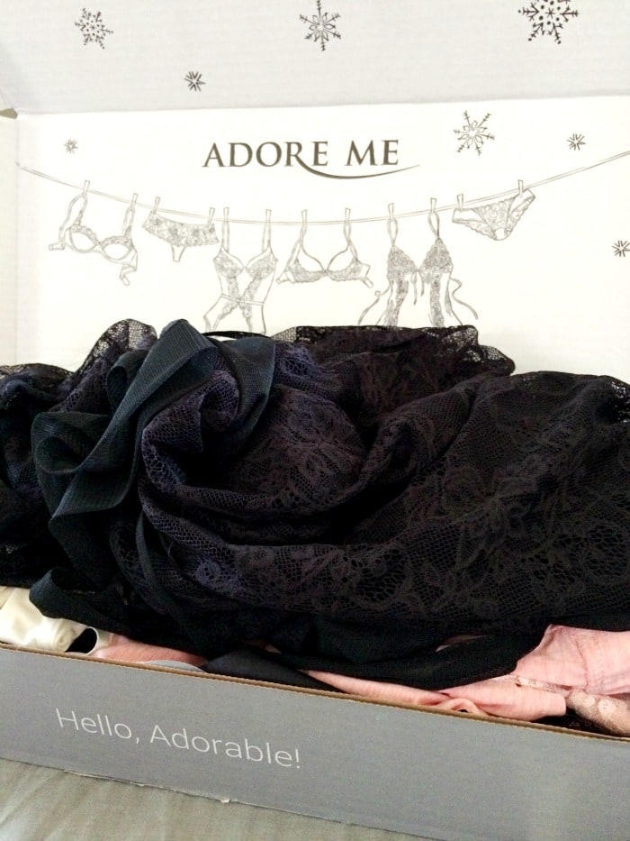 Adore Me Monthly Lingerie box