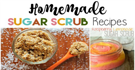 Homemade Sugar Scrub recipes -- over 50 recipes!