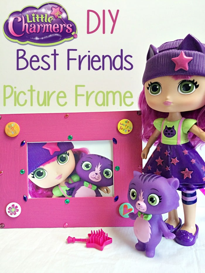 Little Charmers DIY Best Friends Picture Frame