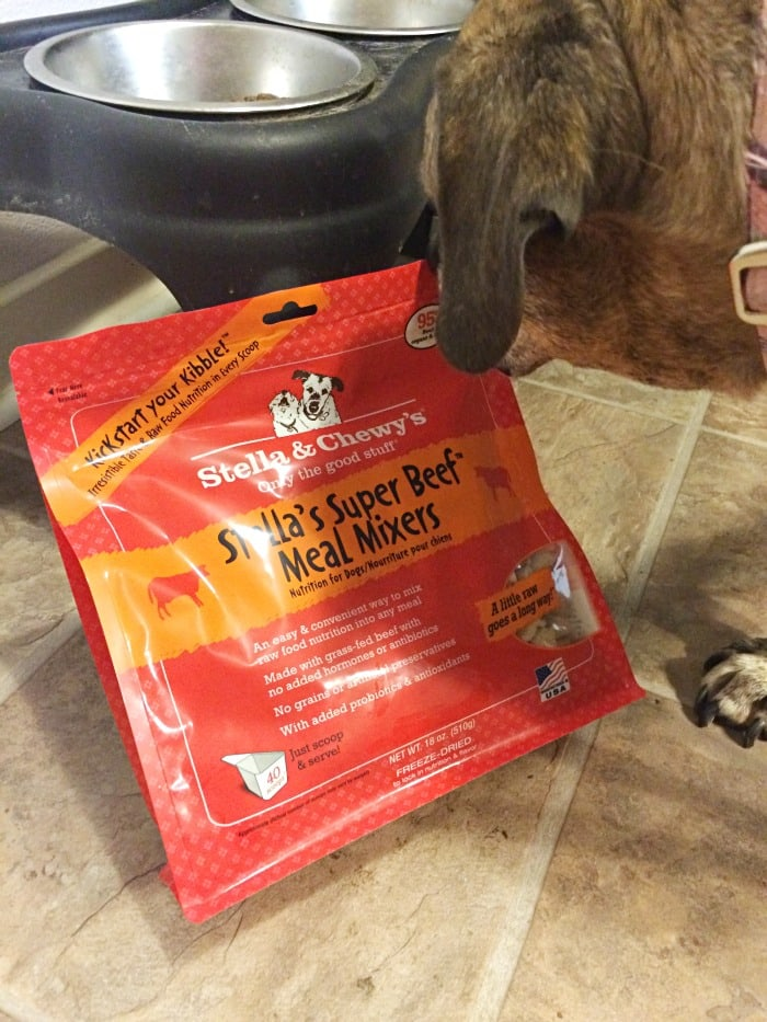 Stella & Chewy's Meal Mixers Super Beef raw food