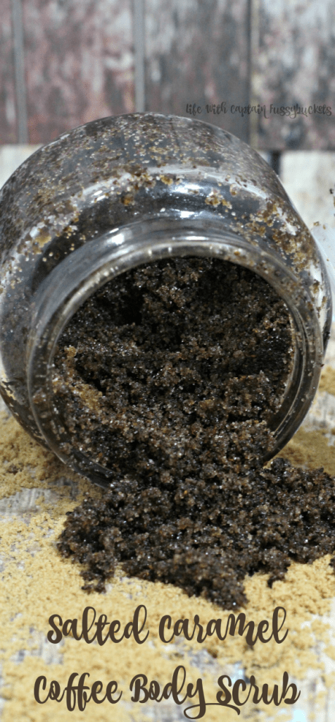 salted caramel coffee body scrub