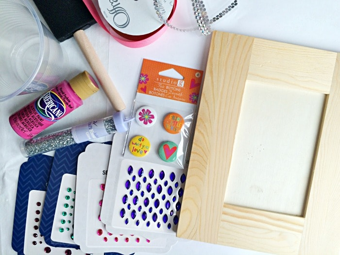 supplies for making your own picture frame