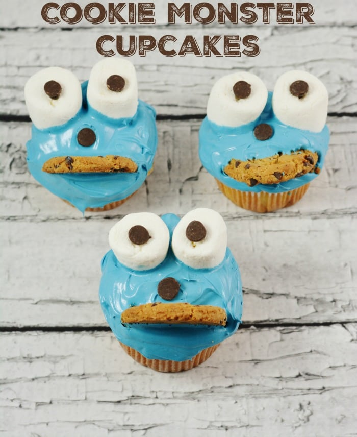 Cookie Monster Cupcakes Moments With Mandi