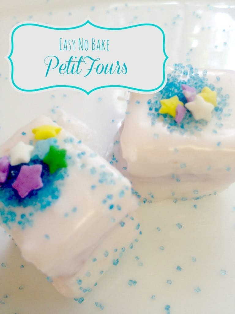 No Bake Petit Fours