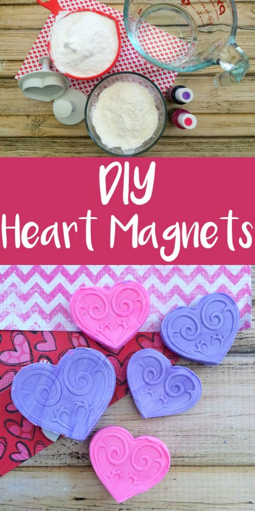 DIY Heart Magnets are an easy Valentine's Day gift or favor
