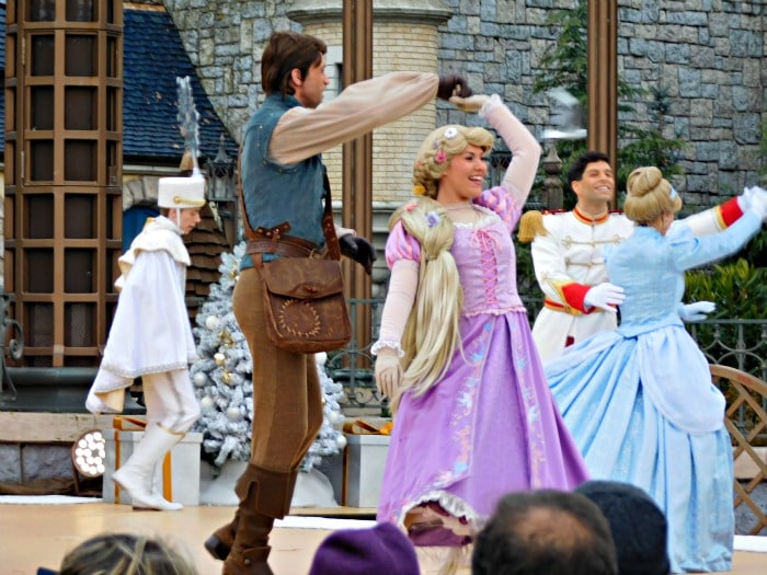 Disneyland Paris princess show