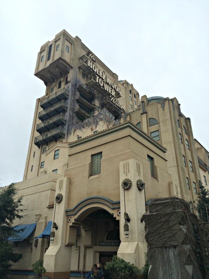 Disneyland Paris Twilight Zone Tower of Terror