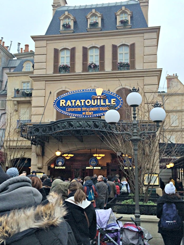 Ratatouille Disneyland Paris