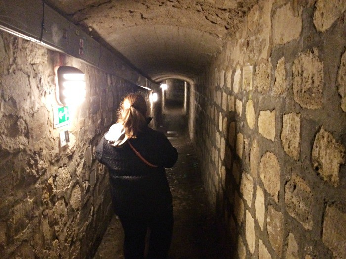 Descending into the catacombs