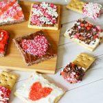Easy 3-Ingredient No Bake Valentine Squares