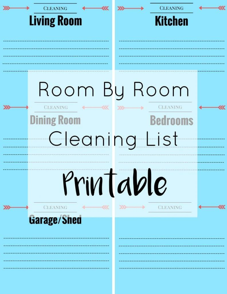Easy Household Cleaning with Bona® + Printable Cleaning List