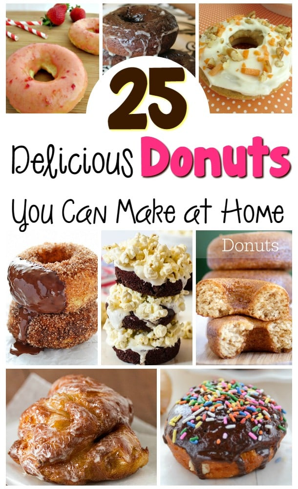 25 Delicious Donuts You Can Make at Home