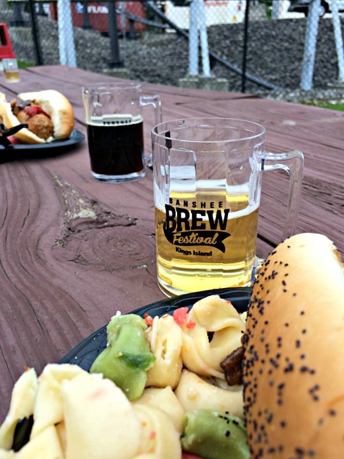 Kings Island Banshee Brew Festival food