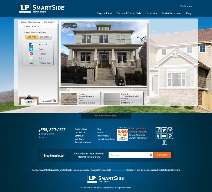 LP SmartSide 4 final house