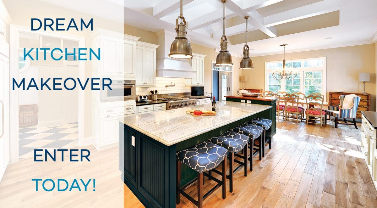 You Could Win a Dream Kitchen Makeover from Wellborn Cabinet ...